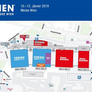 Geländeübersicht Messe Wien