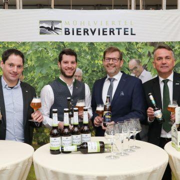 Pressekonferenz Bierviertel Bio Cuvee 1