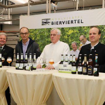 Pressekonferenz Bierviertel Bio Cuvee 1 Kopie