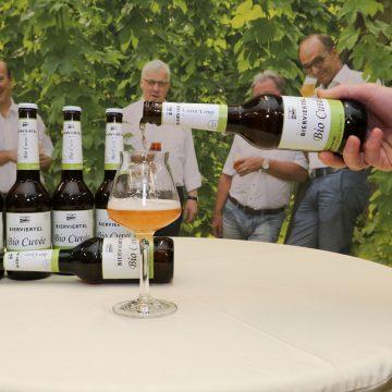 Pressekonferenz Bierviertel Bio Cuvee 3