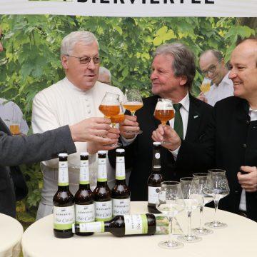 Pressekonferenz Bierviertel Bio Cuvee 5